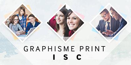 Graphisme Print 2016-2017 – ISC Paris