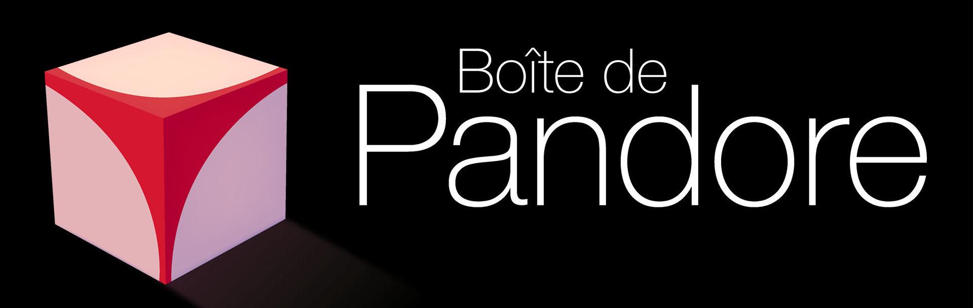 Logo Boite de Pandore - cube erotic logo