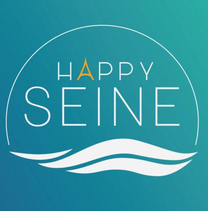 Happy Seine : Direction artistique (Charte & Motion)