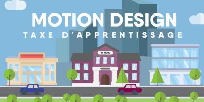 Taxe d'apprentissage – Motion Design