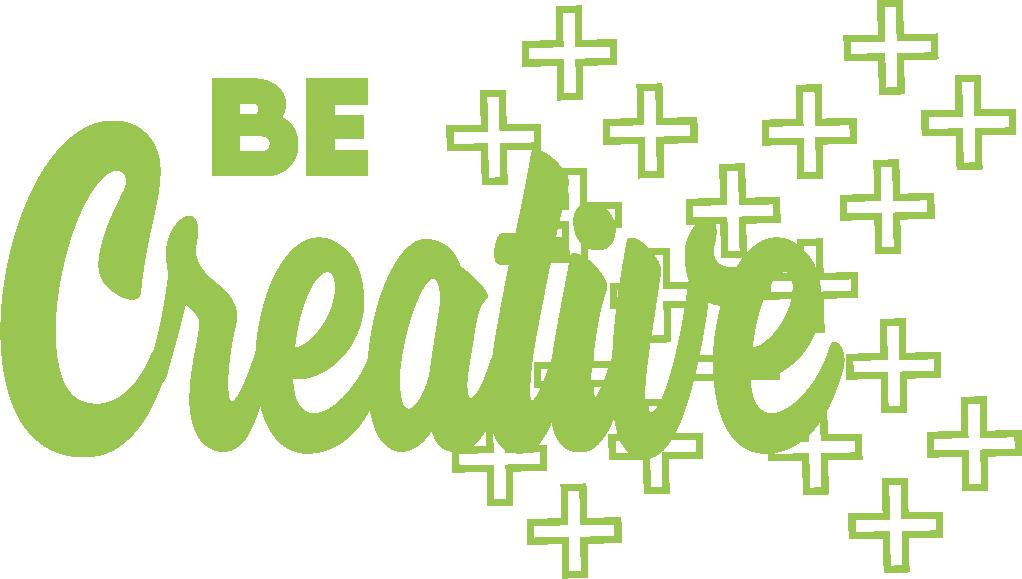 Logo Be Creative