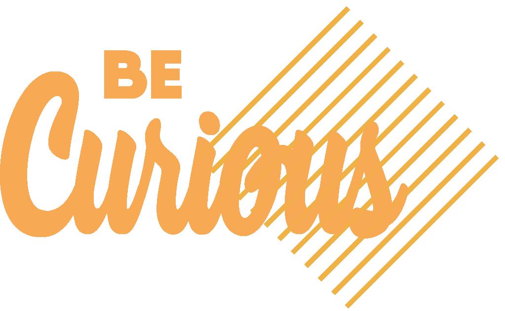 Logo Be Curious