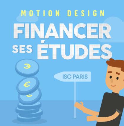 Motion Design – Financer ses études