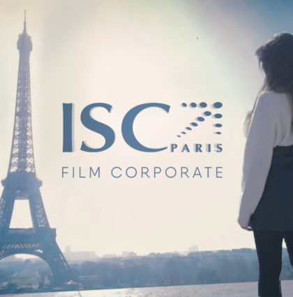 Film institutionnel ISC Paris