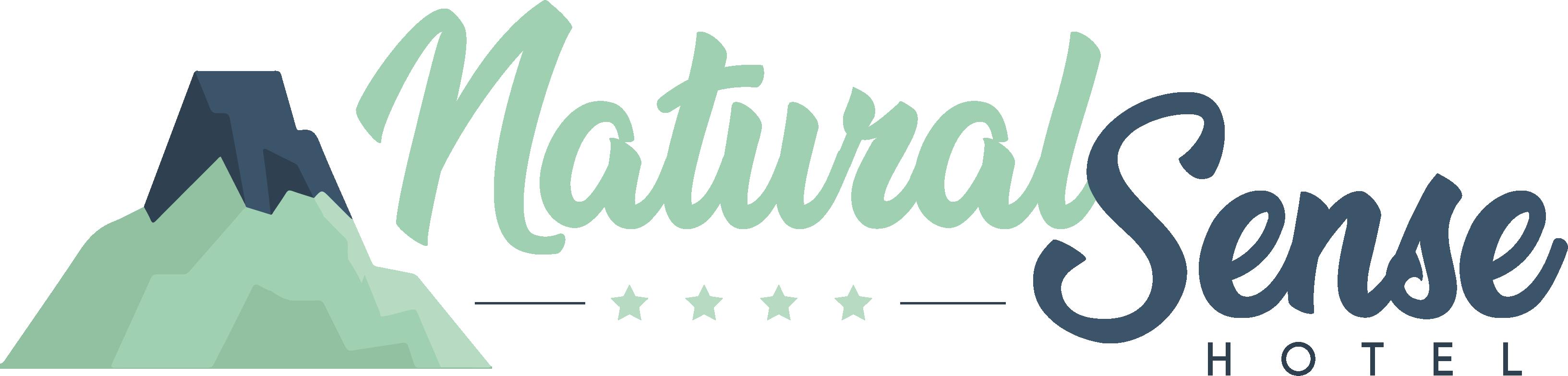 NaturalSense Hotel - Volcano logo inspiration
