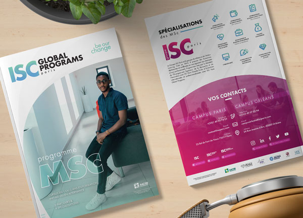 Brochure MSc ISC Paris Global Programs 2020