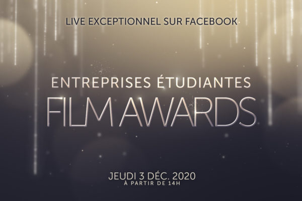 Entreprise Etudiantes Film Awards : live facebook