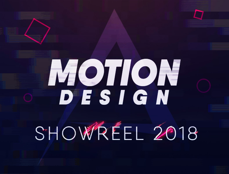 Motion Design Showreel 2018
