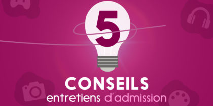 Motion Design – Entretiens d'admission