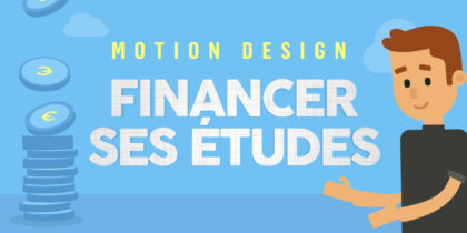Motion Design – Financer ses études