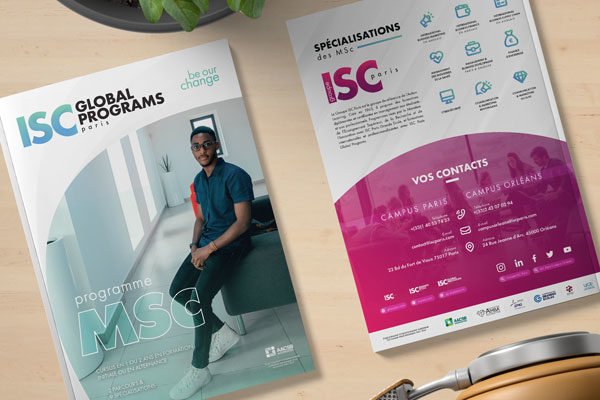 Brochure MSc ISC Paris Global Programs 2020