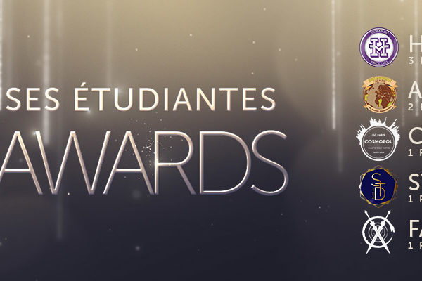 Lauréats Entreprises Etudiantes Film Awards ISC Paris